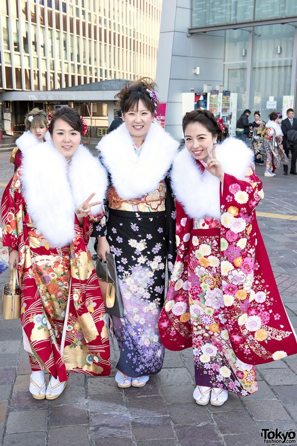 Coming Of Age Day in Japan Kimono (33)