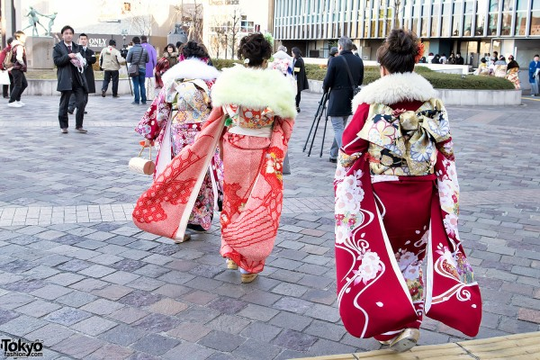 Coming Of Age Day in Japan Kimono (40)
