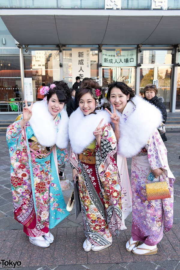 Coming Of Age Day in Japan Kimono (44)