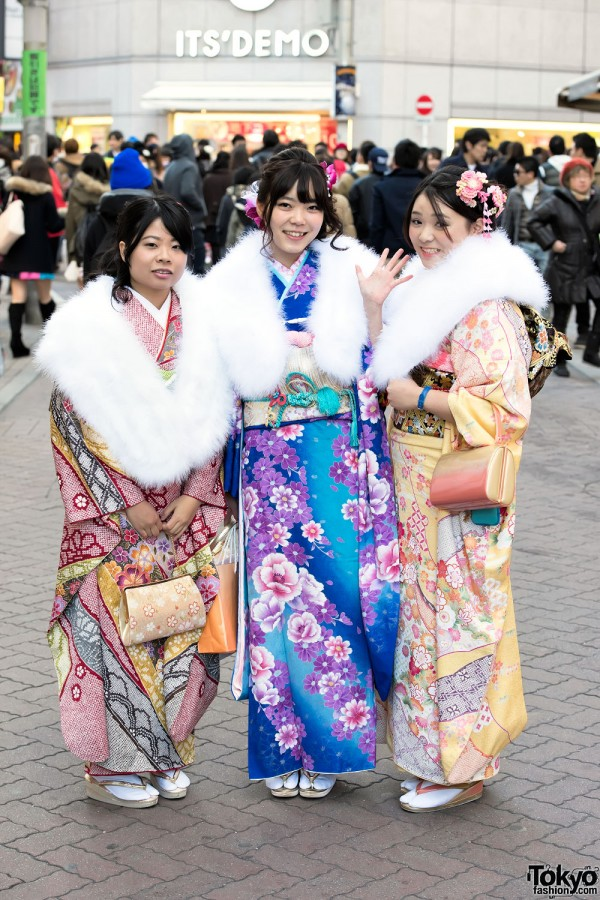Coming Of Age Day in Japan Kimono (64)