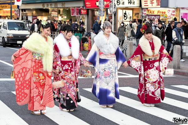 Coming Of Age Day in Japan Kimono (87)