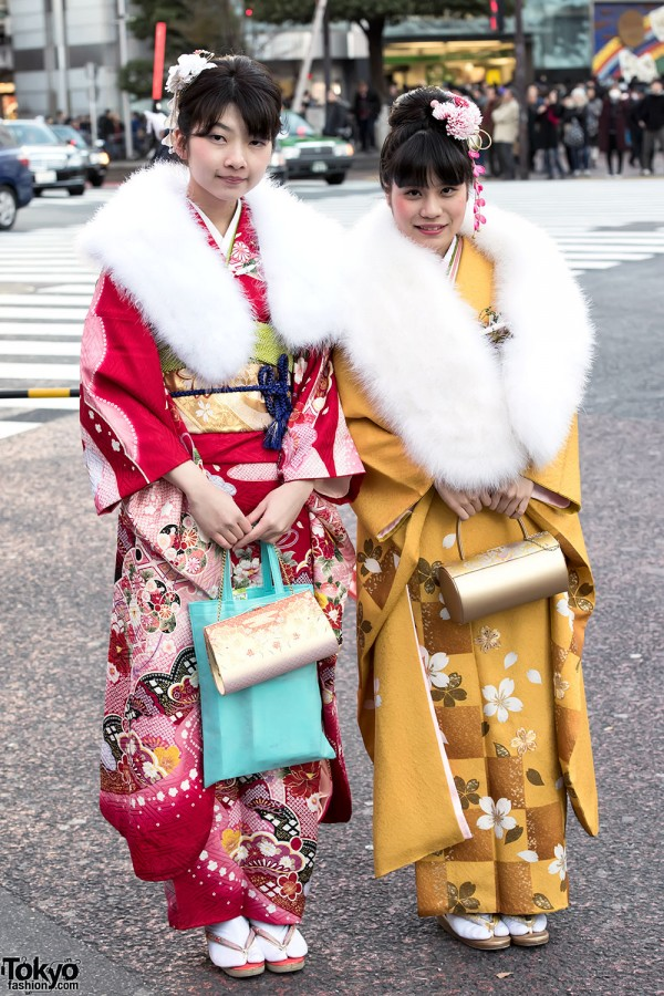 Coming Of Age Day in Japan Kimono (100)