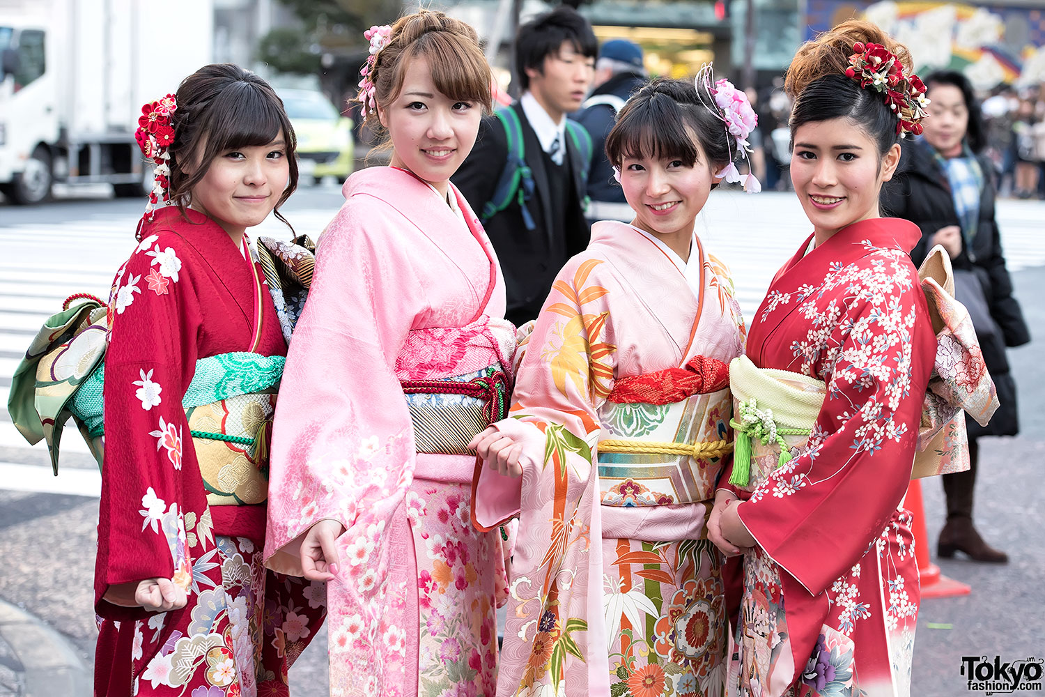 Coming Of Age Day In Japan Kimono 104 Tokyo Fashion News