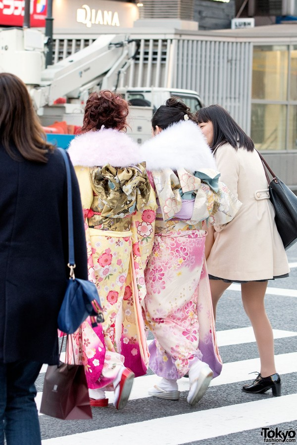 Coming Of Age Day in Japan Kimono (109)