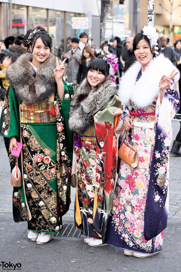 Coming Of Age Day in Japan Kimono (110)