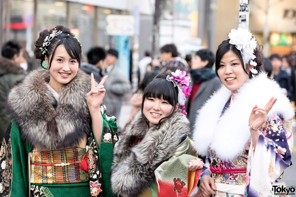 Coming Of Age Day in Japan Kimono (111)