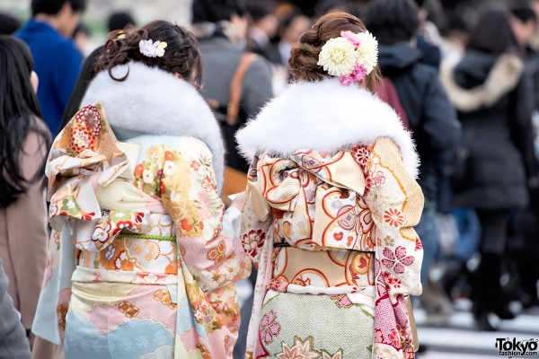 Coming Of Age Day in Japan Kimono (113)
