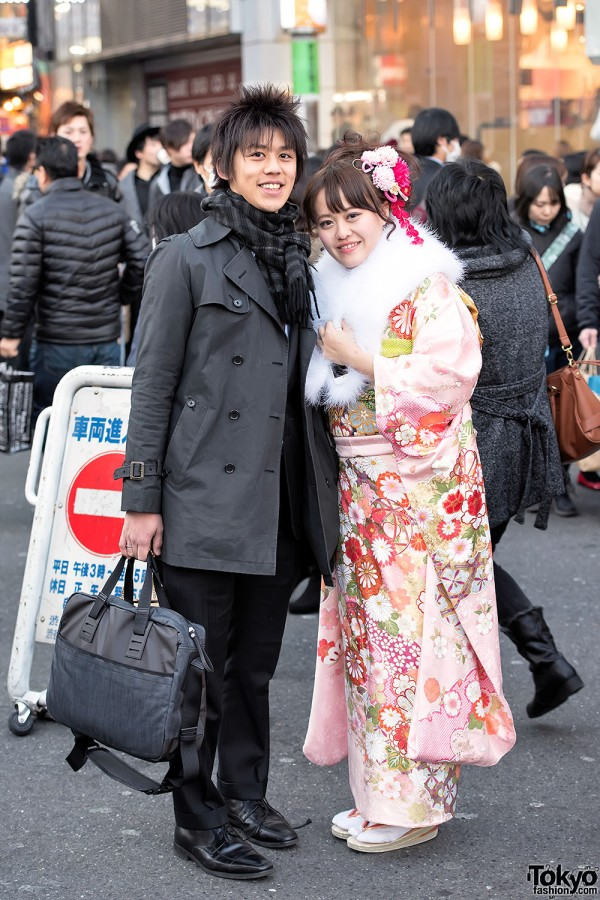 Coming Of Age Day in Japan Kimono (114)