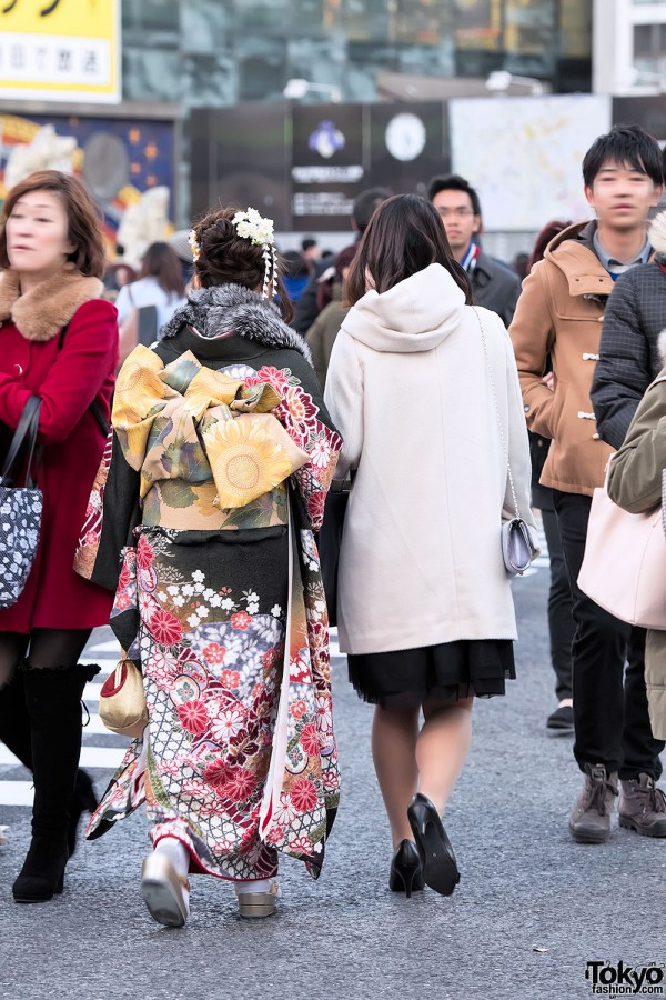 Coming Of Age Day in Japan Kimono (116)
