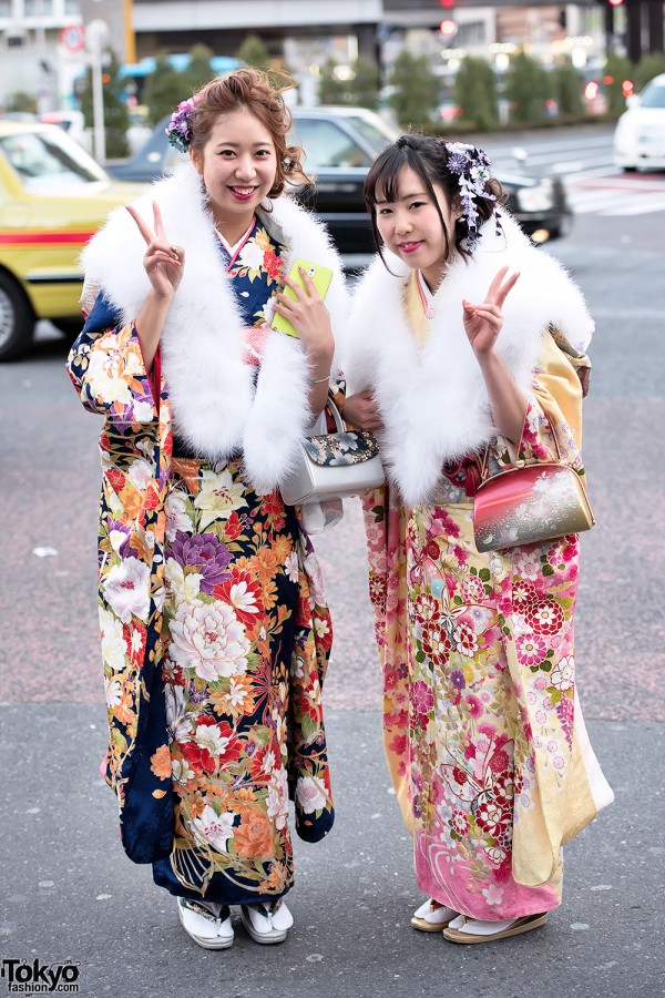 Coming Of Age Day in Japan Kimono (117)