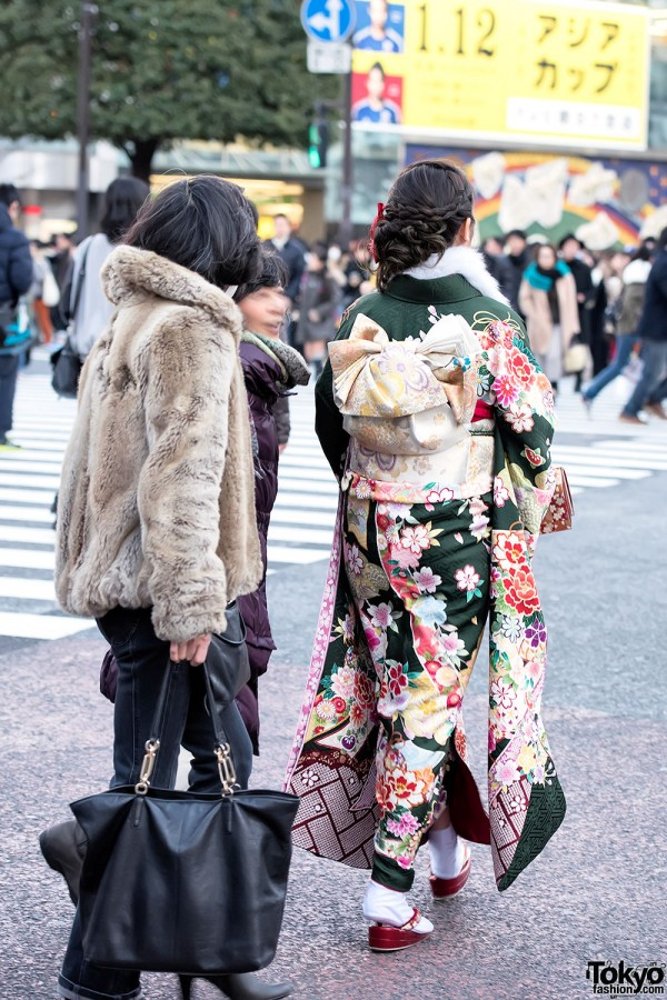 Coming Of Age Day in Japan Kimono (119)