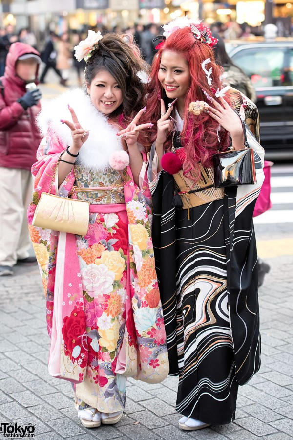 Coming Of Age Day in Japan Kimono (123)