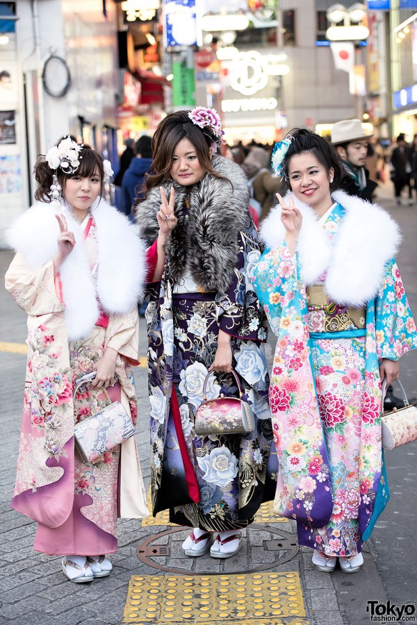 Coming Of Age Day in Japan Kimono (127)