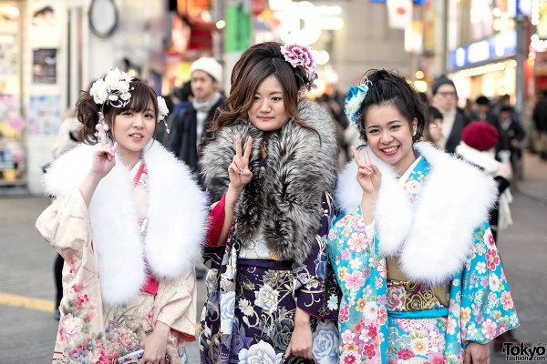 Coming Of Age Day in Japan Kimono (128)
