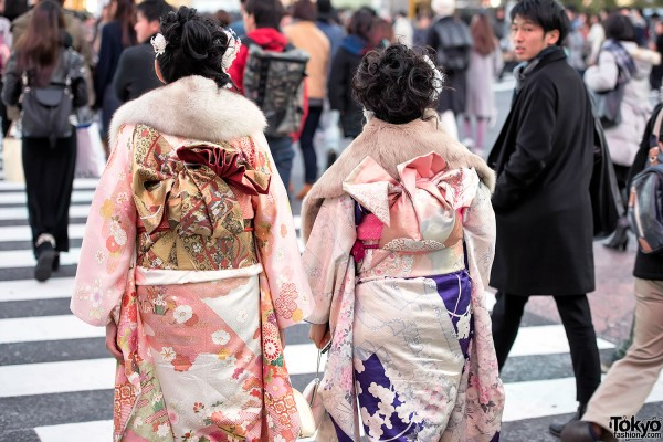 Coming Of Age Day in Japan Kimono (129)