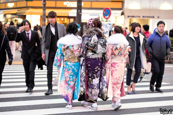 Coming Of Age Day in Japan Kimono (130)