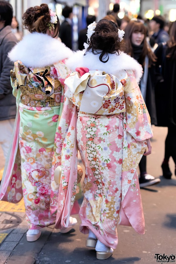 Coming Of Age Day in Japan Kimono (133)