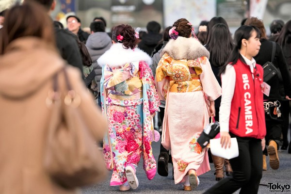 Coming Of Age Day in Japan Kimono (135)