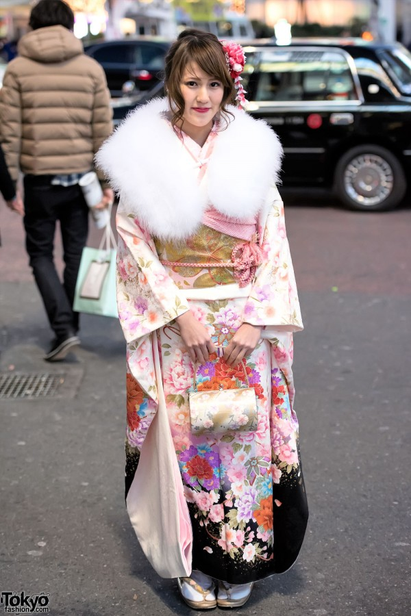 Coming Of Age Day in Japan Kimono (136)