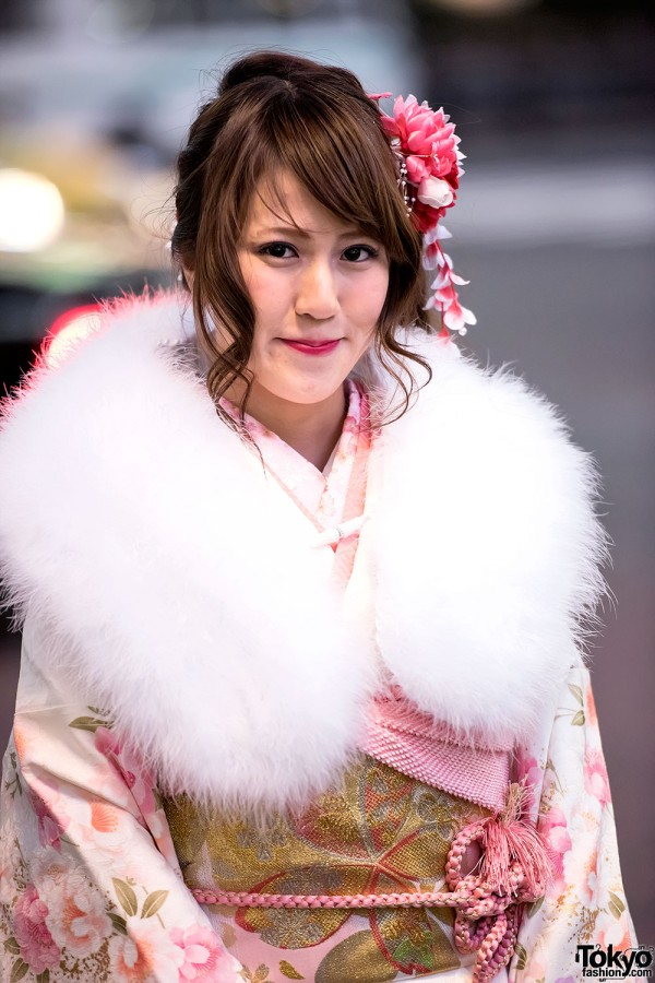 Coming Of Age Day in Japan Kimono (137)