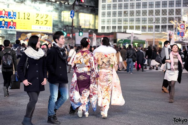 Coming Of Age Day in Japan Kimono (138)