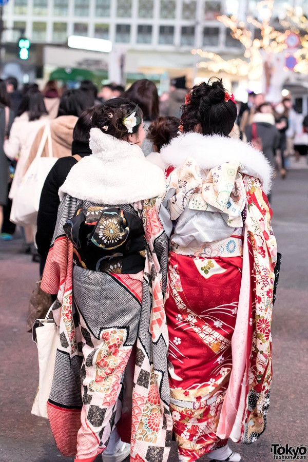 Coming Of Age Day in Japan Kimono (142)