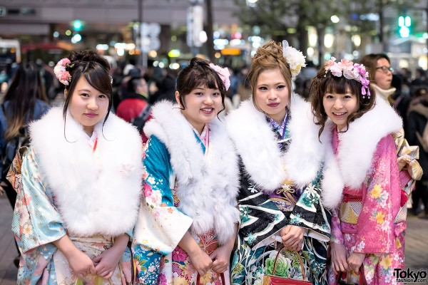 Coming Of Age Day in Japan Kimono (147)