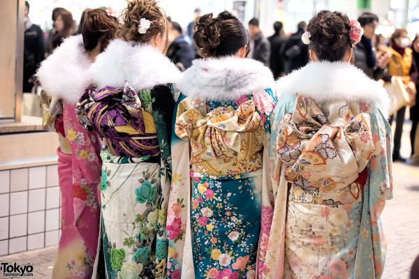 Coming Of Age Day in Japan Kimono (148)