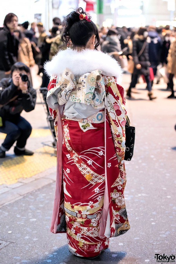 Coming Of Age Day in Japan Kimono (149)