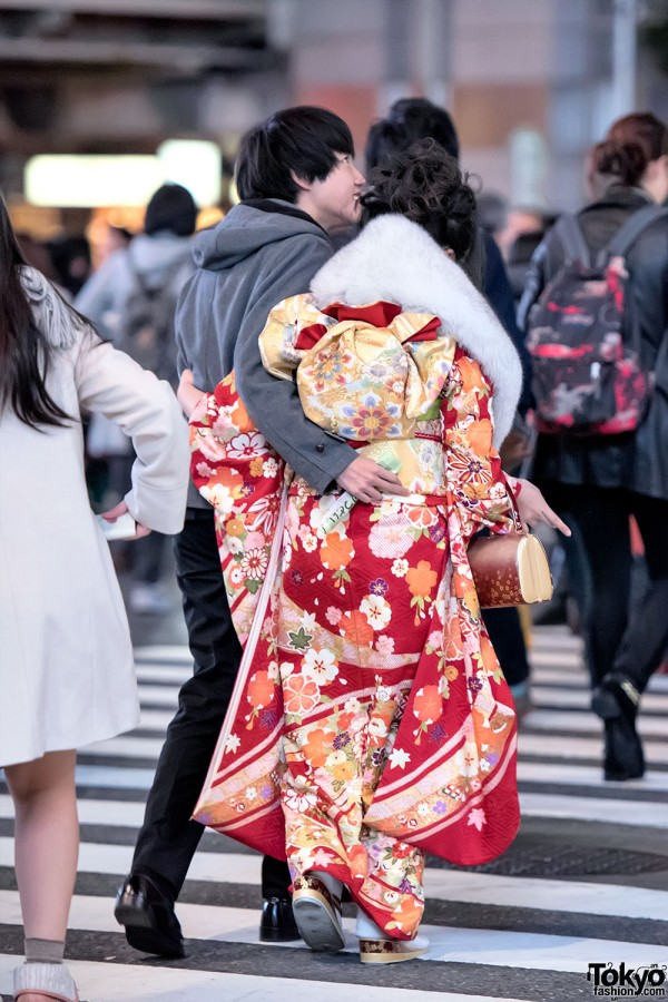 Coming Of Age Day in Japan Kimono (150)