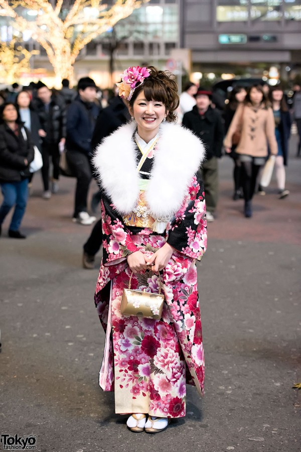 Coming Of Age Day in Japan Kimono (155)
