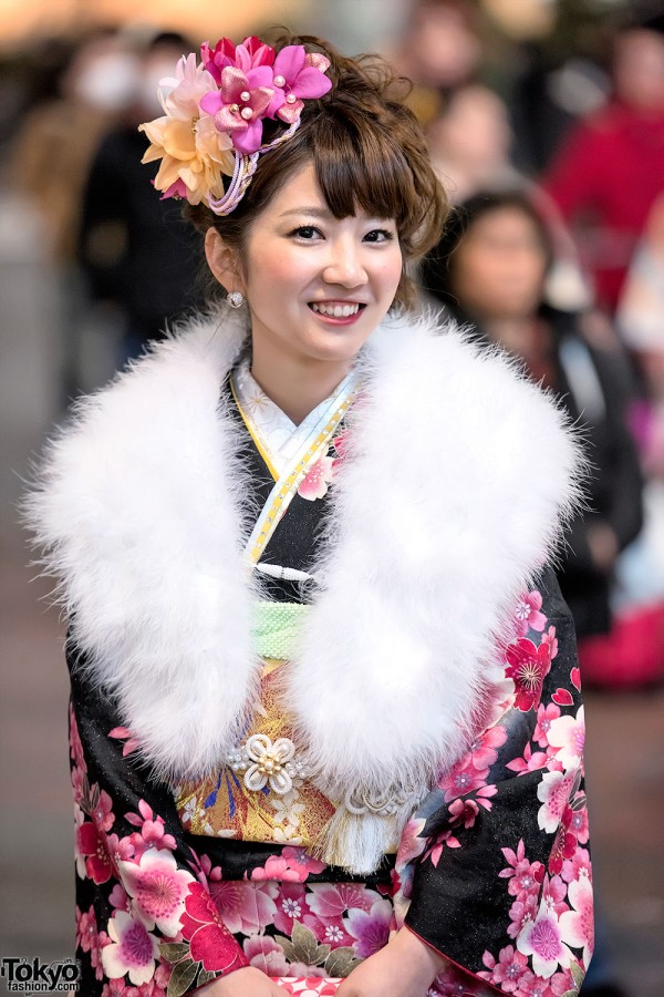 Coming Of Age Day in Japan Kimono (156)