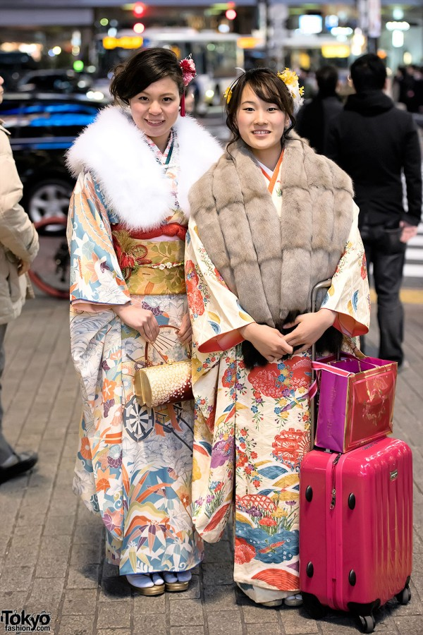 Coming Of Age Day in Japan Kimono (157)