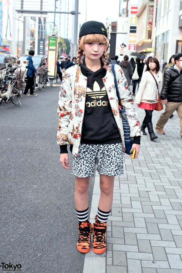 Monomania Jacket & World Wide Love Shorts