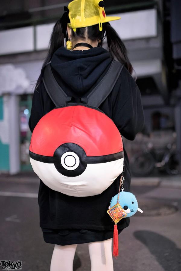 Pokemon Backpack Harajuku