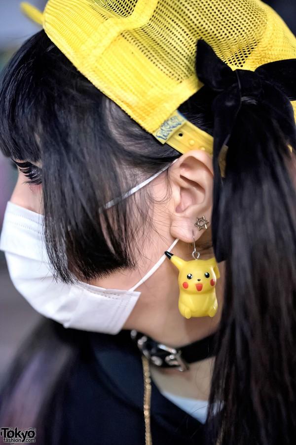 Park Harajuku Pikachu Earring