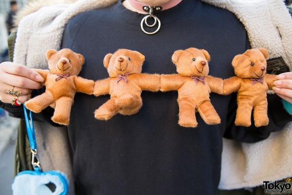 Spinns Plush Teddy Bear Sweatshirt