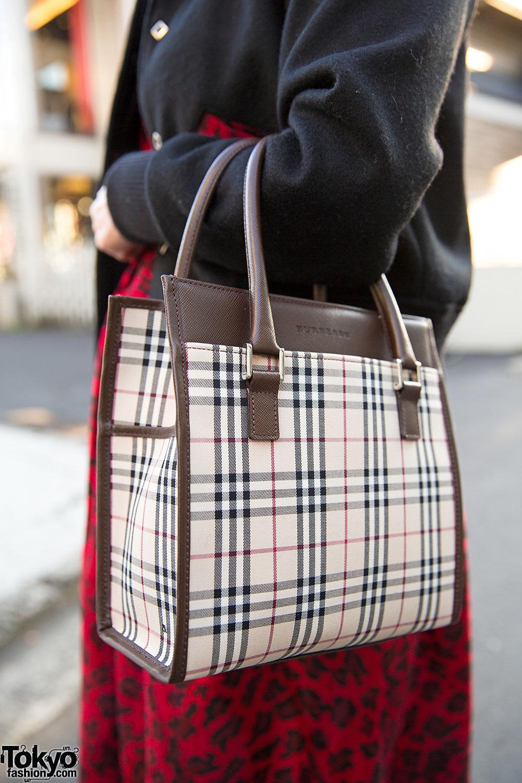 Мода на клетчатые сумки фото