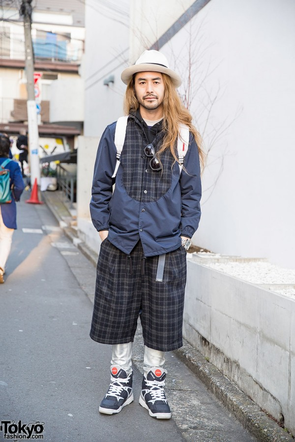 Spinns Harajuku Director in Plaid Kidill Fashion, Stussy, Sailors & Flud
