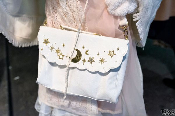 Swimmer Moon & Stars Purse