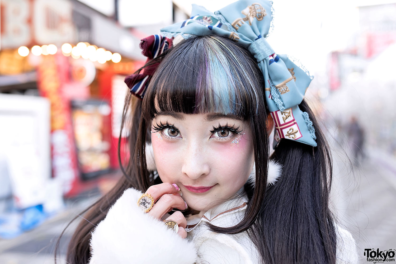 Rinrin Doll On Takeshita Dori In Angelic Pretty Amp Milk