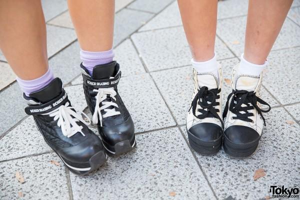 Love Drugstore Platform Sneakers