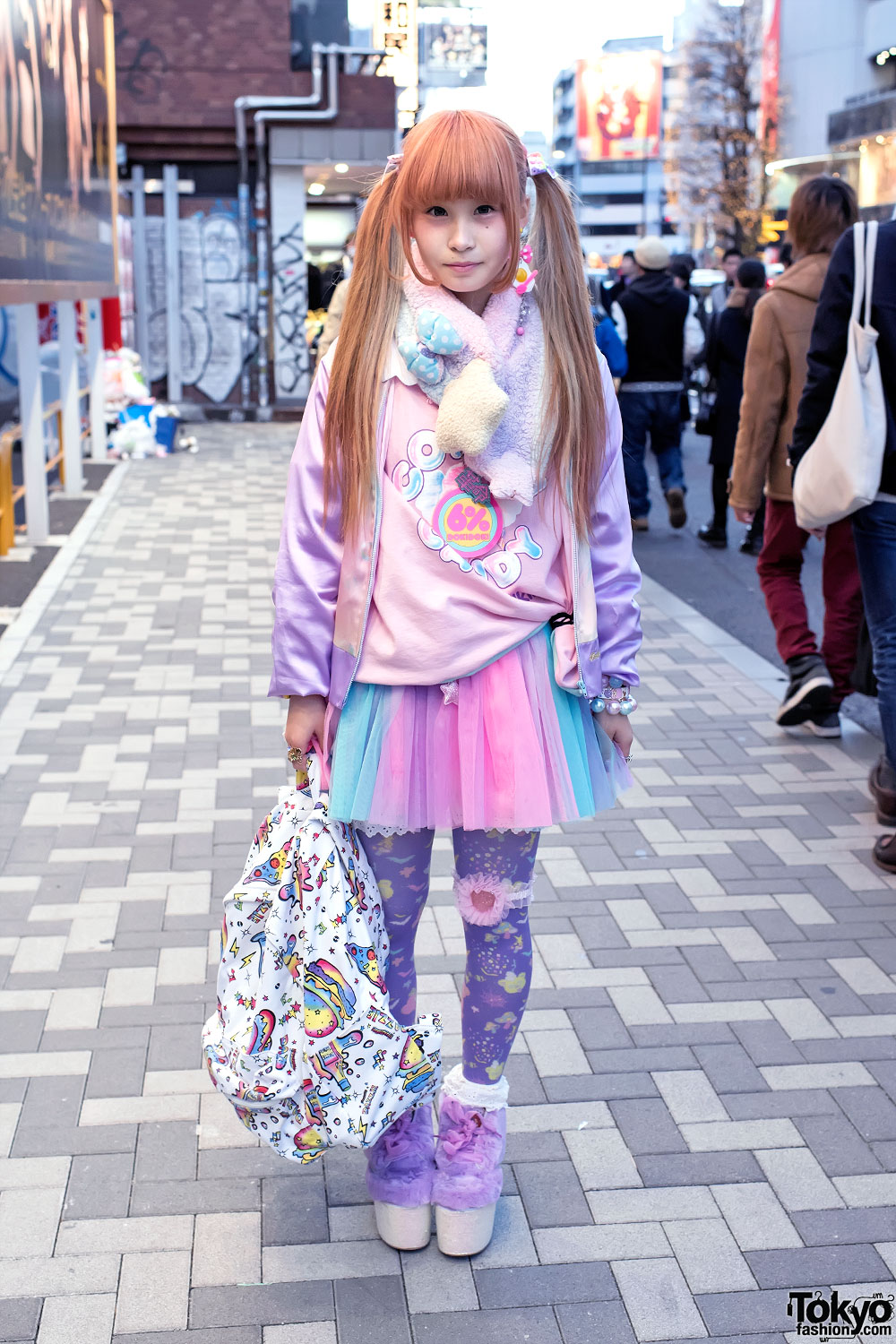 Girl Fashion Magazine: Kawaii Harajuku Girl's Style W/ Twintails, 6%DOKIDOKI