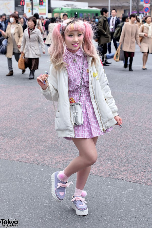 Cute Pastel Fashion in Shibuya