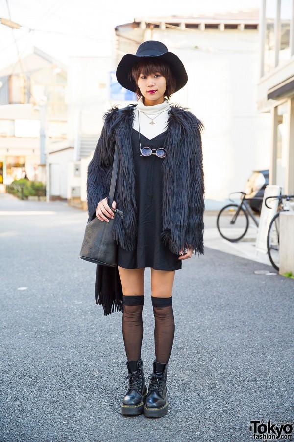 Black Amp White Harajuku Look W Dholic Vivienne Westwood