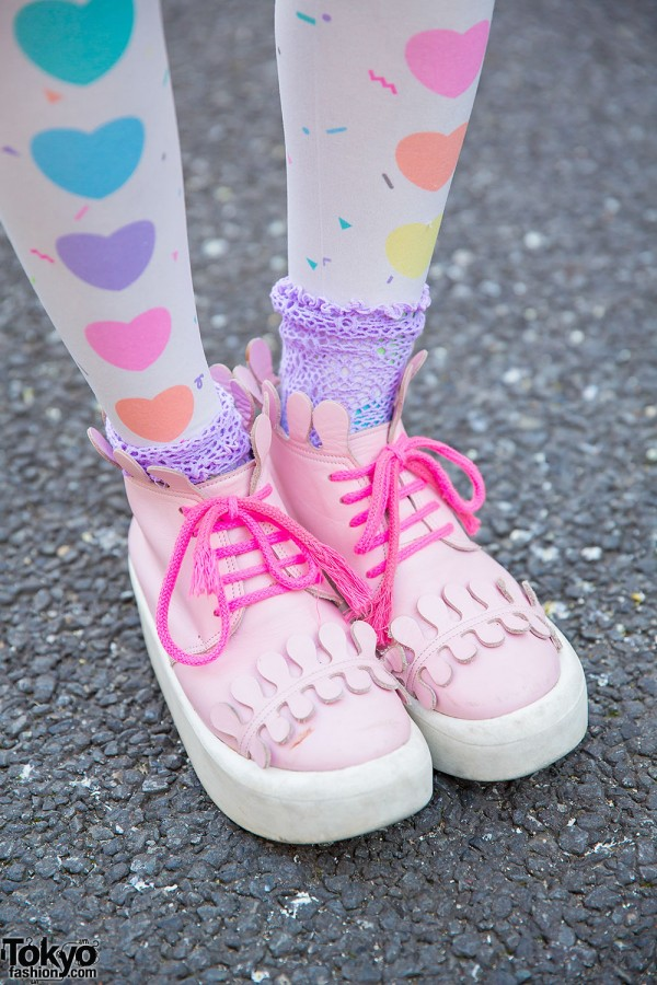 Pink Tokyo Bopper Shoes