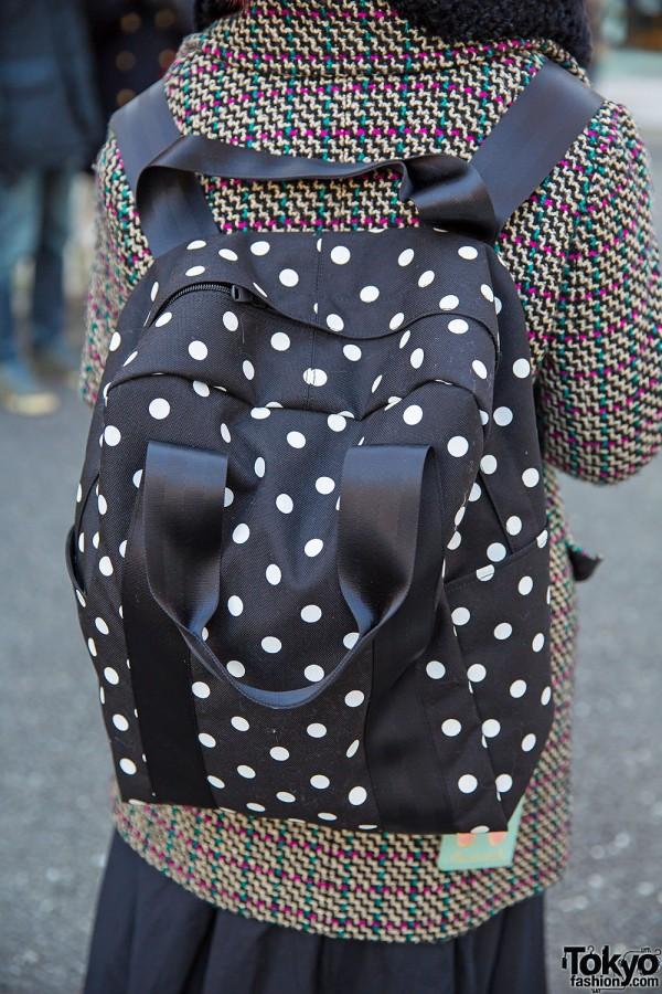 Comme des Garcons Polka Dot Backpack