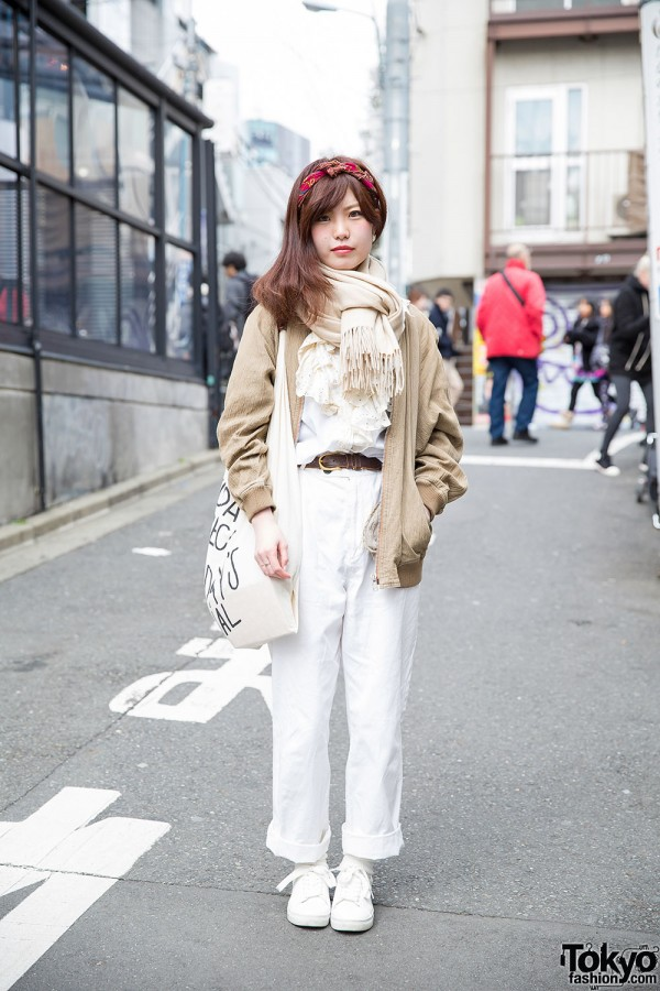 Harajuku Girl Wearing Tomorrowland, Celine, Today's Special, H&M & Resale Fashion