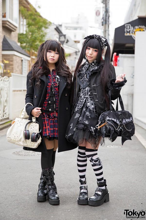 Harajuku Girls in Twin Tails & Dark Styles w/ h. NAOTO, Putuyamo & Vivienne Westwood