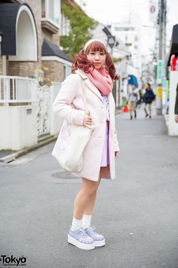 Pastel Harajuku Fashion w/ Nile Perch, Bubbles & American Apparel